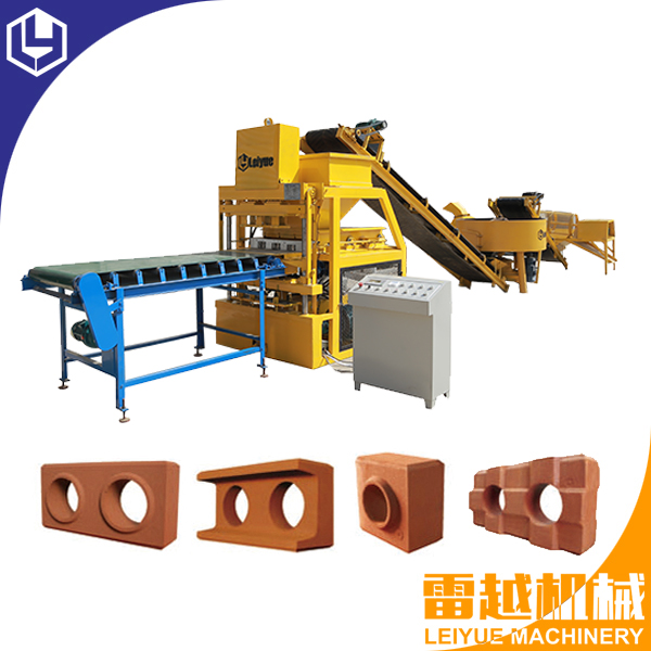 LY4-10 Fully automatic interlocking block machine